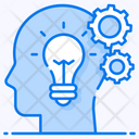 Thinking Process Brainstorming Creative Thinking Icon