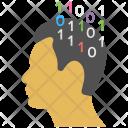Thinking Headgear Brainstorming Icon