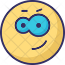 Thinning Emoticons Winking Smiley Icon