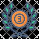 Third Bronze Badge Icon