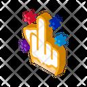 Third Finger Gesture Icon