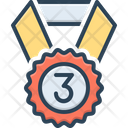 Third Medal Win Icon