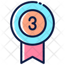 Third Place Ribbon Icon