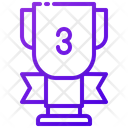 Third Place Trophy Icon