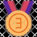 Champ Medal Award Achievement Icon