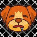 Thirsty Emoji Emoticon Icon