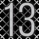 Thirteen Icon
