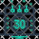 Thirty Icon