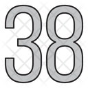 Numbers Days 38 Icon