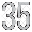 Thirty Five Icon
