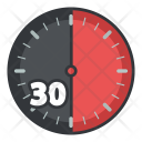 Thirty Minute Time Icon