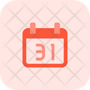 Thirty One Date Icon