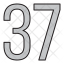 Numbers Days 37 Icon