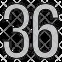 Thirty Six Icon