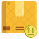 This Side Up Dispatch Parcel Dispatch Courier Icon