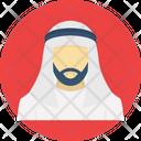 Thobe Arabic Man Thawb Icon