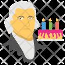 Thomas Jefferson Birthday Icon
