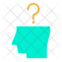 Thought Thinking User Questions Icon