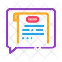 Thought Court Sentence Icon