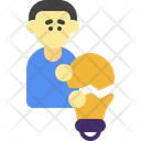 Thought Innovation Idea Icon