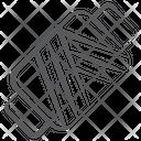Thread Coil Bobbin Thread Spool Icon