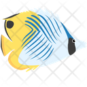 Threadfin Butterfly Fish Icon