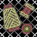 Thread Spool Bobbin Icon