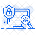 Threat Protection Threat Security Virus Protection Icon