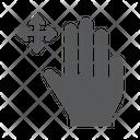 Three Finger Free Icon