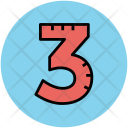 Three Digit Number Icon