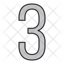 Numbers Days 3 Icon