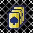 Three Card Poker Playing Card Three Icon