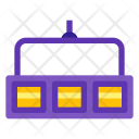 Three cell cyclorama lights Icon