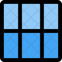 Three Column Vertical Grid Icon