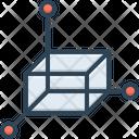 Polygonal Graphic Three Icon
