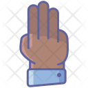 Three Fingers Icon