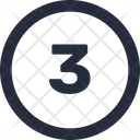 Three number Icon