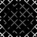 Three Quarters Icon