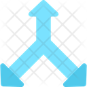 Three Side Arrow Navigation Arrow Direction Arrow Icon
