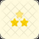 Three Star Star Favorite Icon
