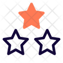 Three Star Icon