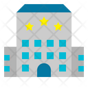 Three Star Hotel Icon
