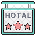 Hotel Threestar Board Icon