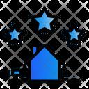 Three Star Real Estate Icon