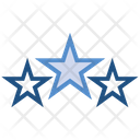 Three Stars Icon