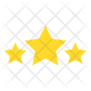 Three Stars Icon