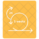 Three Week Sprint Icon