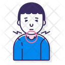 Throat Swelling Icon