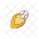 Throw Baseball Game Icon