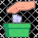 Trash Bin Throw Garbage Throw Trash Icon